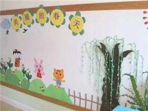 幼儿园春天主题墙