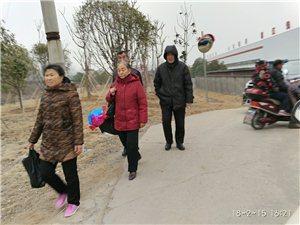 大年三十烟墩包村书记带领志愿者维持扫墓交通秩序