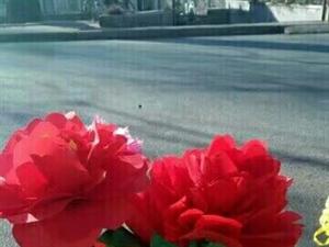 我的手工创意布艺玫瑰花。布艺牡丹花,布艺