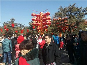 北京地坛公园庙会