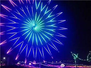 威尼斯人网站市天鹅湖公园看灯展,随手拍,分享快