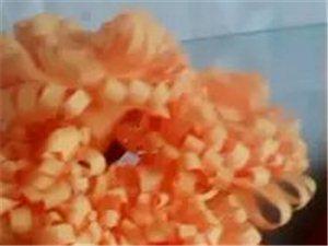 我的创意。手工布艺菊花。漂亮吗