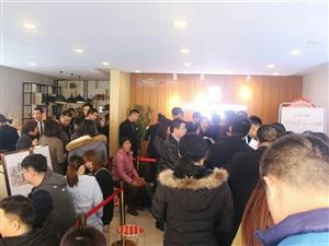 中南熙悦帝王户型诞生,看房客户挤爆售楼处