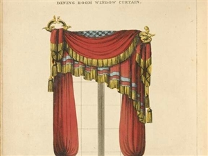 拿破仑时期的窗帘设计