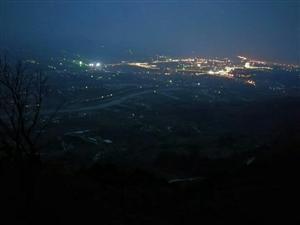 鲤鱼山之夜暮鸟橄