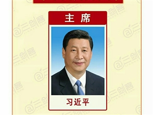 珍藏:带领全国人民前行的新一届班子图