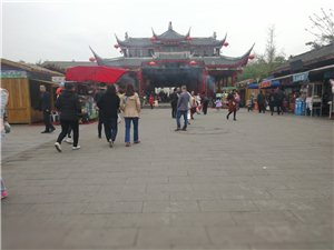 西蜀水乡小镇好玩的休闲!