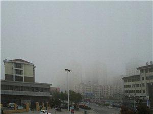 雾和霾,有时候真让你看不透...