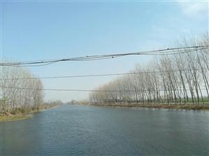 白灌渠双庙桥上的风景!