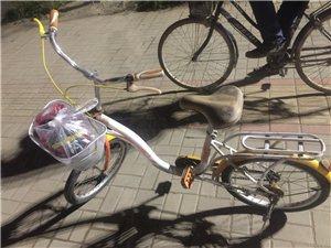 自用半新旧自行车(闲置转让),地点在花园路新广场附近