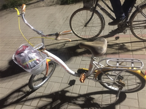 自用二手自行车(转卖,地址在澳门太阳城官网新广场)