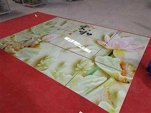 河南省漯河市瓷典精品艺术背景墙
