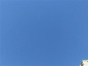 天蓝蓝的特别纯净