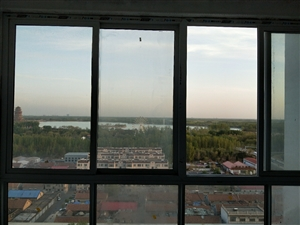 黄1渤七绿洲家园观景楼层俯瞰蒲湖位置好