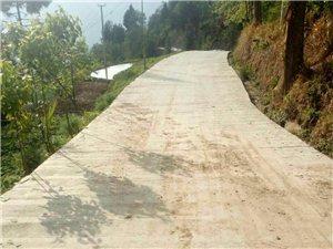通江县土墙坪村村公路严重安全隐患
