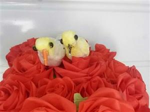 我的创意生活作品,手工布艺牡丹花。玫瑰花。菊花。富贵鸟等多种手工作品。猜你喜欢。我的微信号15866