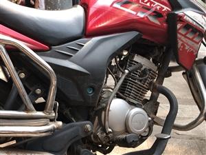 隆鑫骑士车125cc行驶9000公里低价出。必过户