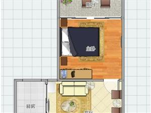 金盛家园1室1厅1卫30万元有本可贷款