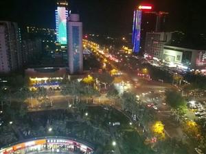 大晚上的龙8国际娱乐中心很美