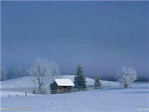 去岁雪夜回老家感