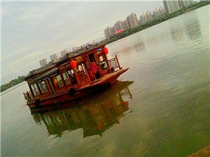 汉江黄昏(手机摄影)