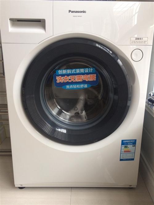 松下全新,5.2公斤下排水滾筒洗衣機~海達買的,入手價1699,現欲1500出售可議