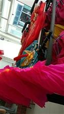 窑街市场内,舞蹈广场服装扇子手帕腰带头花热卖,电话13919872919米
