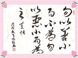诗和书法(作者:蔡伟亲)