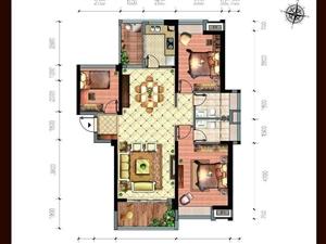 百福豪城准现房,91平+送38平方,售价105万