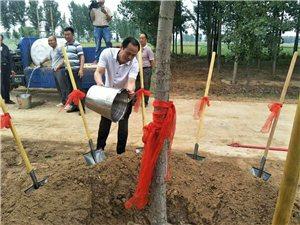 澳门太阳城现金网双蓬头寒拾飞升处种植和合二仙升天大杨树,活动圆满成功。