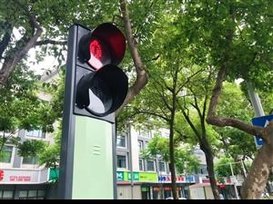 """荆门城区5处智能行人过街系统昨日正式启用,机动车、行人从此不再""""六神无主""""!"""