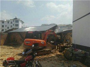 有老人住的老房注意了,文峰乡在河岭村拆除已盖瓦,但未维修粉刷墙壁的空心房,要自己维修好。