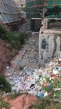 东山谷碧桂园违规填埋生活垃圾和建筑材料垃圾