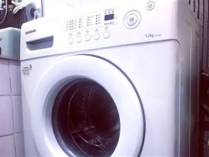 三星全自动波轮洗衣机,卖啦不到两年,用的频率不高,我妈喜欢手洗,只用他洗冬天衣服和床品,容量5.2k...
