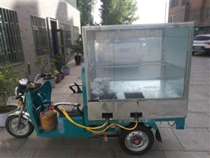 出售强胜牌1米3的电动三轮车,2018年4月1日买的,煤气罐锅灯包罗万象,接过来就可以间接干小吃。