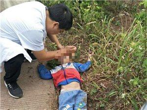 就在刚刚!宜宾县喜捷发生车祸,一妇女被教练车当场撞死,还有一个小孩在抢救!