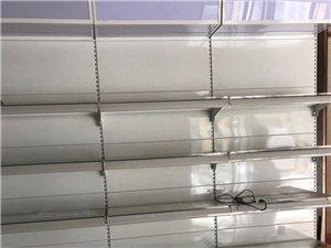 精品玻璃展示柜,带灯箱广告,带灯带,总共九节,一节300,特价处理,有要的联系