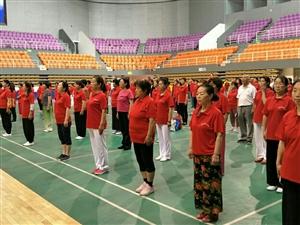 2018河南省太极拳剑培训班陕州站今天开课