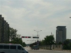 美高梅注册城内公交新增105班线沿途风景