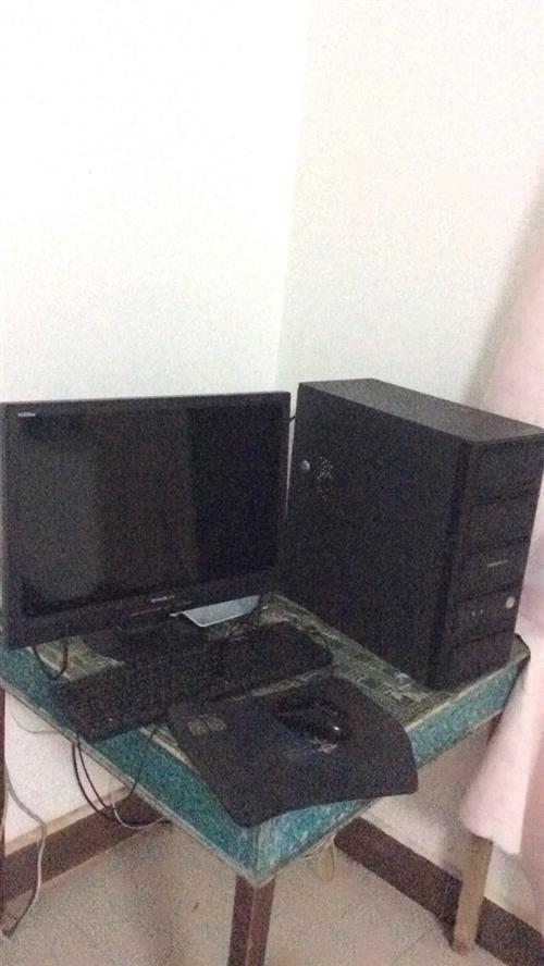 金沙游戏英特尔酷睿四核E5420处理器,华硕主板,1G独显,500G硬盘,22寸液晶显示器一套,1080...