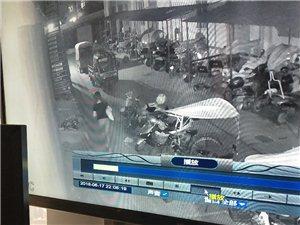 水榭花都小区6月17号晚10点10分偷走我的电动车,请同志们注意此女!