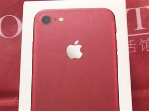 出售自己用的苹果7 红色特别版 不到一年 外观很好 九五新 没有一点瑕疵 128g内存 运行流畅 最...