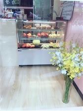 冰仕特商用风冷台式小型保鲜展示柜 1.2米落地冷风款   9成新  白色 才用了1个半月时间 原...