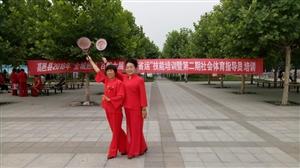 文体女子柔力球队参加百团大展