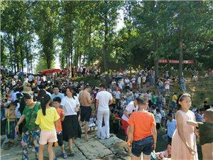 叶县龙泉翠花桥真实个好地方,天气一热,人就多!有没有约的,翠花桥走起!!!