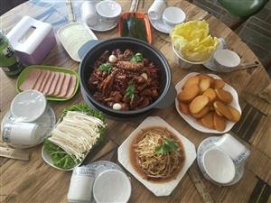 网红小V家火锅鸡开业啦!!!
