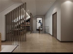 本人最近设计的黄国新城小区复式楼方案~简中