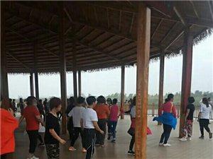 安新县大王镇中六村湿地长廊每天的早晨的空气影响