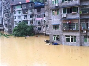 今晨澳门赌场网址暴雨房屋被损、被淹,20多人被困,救援已开始!