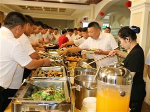 扬翔饲料(河南区)大型会议在见山生态酒店圆满完成